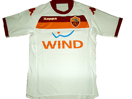 MERCHANDISING, ecco le nuove maglie dell'As Roma 2009-2010   As ...
